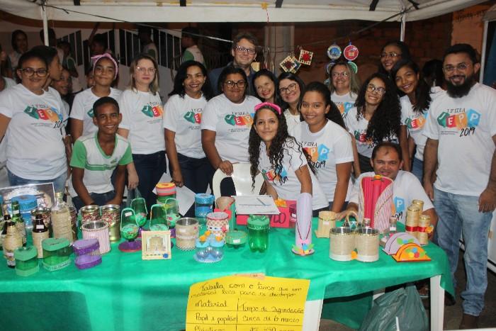 Feira Jovem Empreendedor é Realizada em Santa Cruz dos Milagres