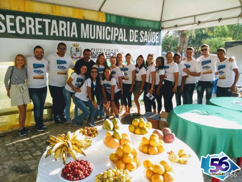 Monsenhor Gil | Prefeitura promove aulas de zumba e degustação de frutas