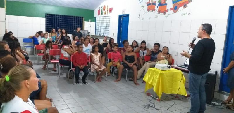 Lagoinha do PI | Escola municipal Antonio Basílio realiza I Sarau literário