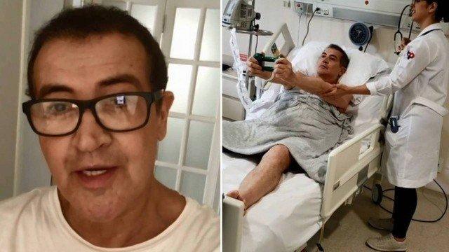 Beto Barbosa desabafa sobre luta contra o câncer: 'pedi para Deus me levar'