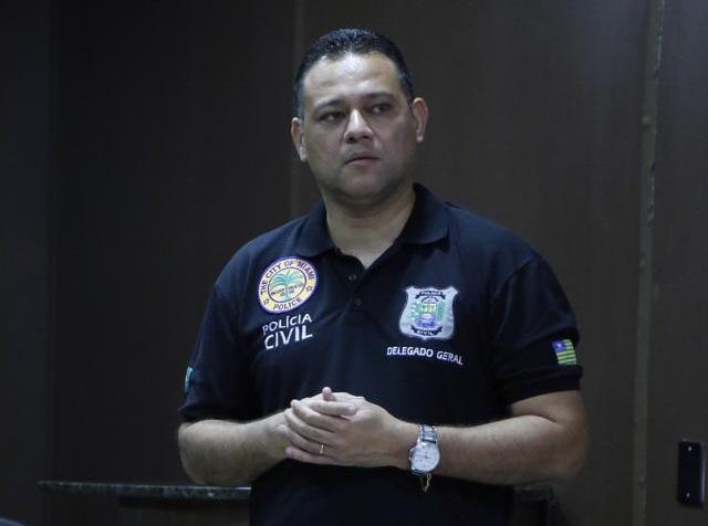 Delegado Riedel Batista (Foto: SSPPI)