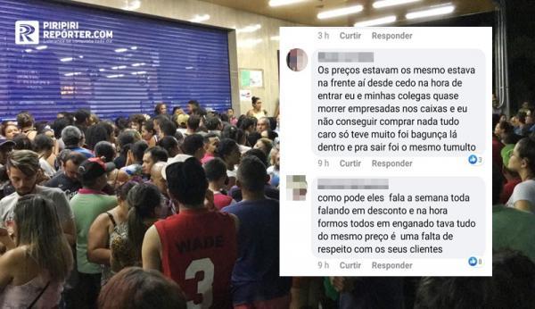 Decepção e tumulto marcam 'Black Friday' anunciado por supermercado