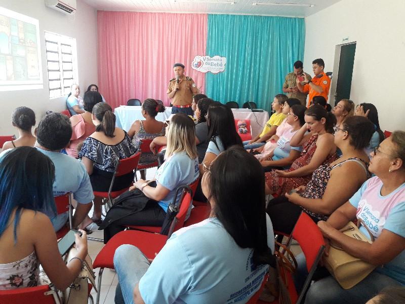 DEL finaliza com sucesso as atividades de palestras da Semana do Bebê.