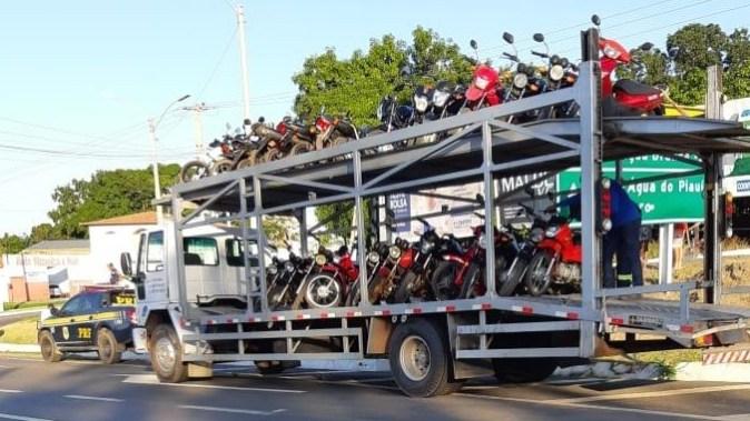 PRF realiza mais uma fase da Operação 'Cavalo de Aço' no Piauí