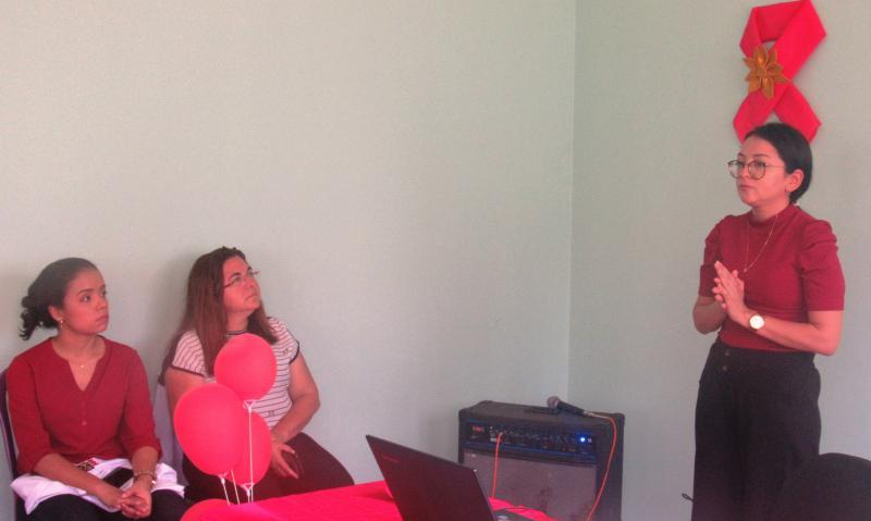 Secretaria de saúde de São J. do Arraial realiza campanha dezembro vermelho