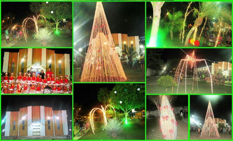 Prefeitura de São João do Arraial finaliza e entrega a decoração natalina