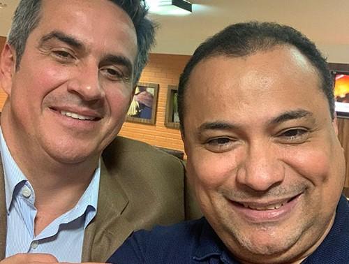 Evaldo Gomes busca apoio de Ciro para indicar vice na chapa de Firmino