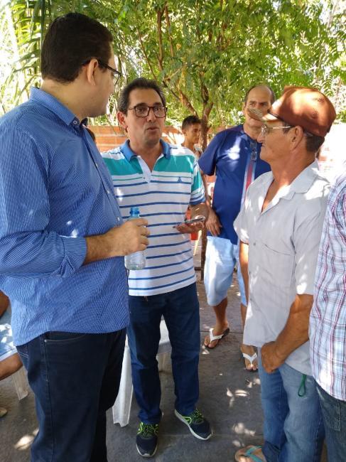 Vereador recebe o gerente executivo do INSS no Piauí