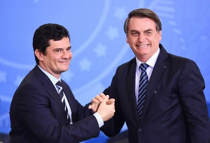 Moro é mais popular do que Bolsonaro, diz pesquisa