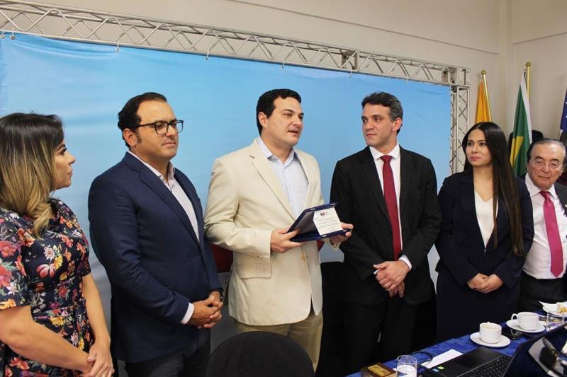 Presidente da OAB Piauí é homenageado em Subseção da OAB Maranhão