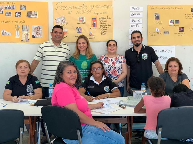 Comissões da OAB Piauí prestam esclarecimentos jurídicos em ação solidária
