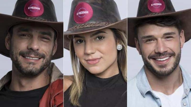 Diego, Hariany e Lucas são os finalistas de 'A Fazenda 11'