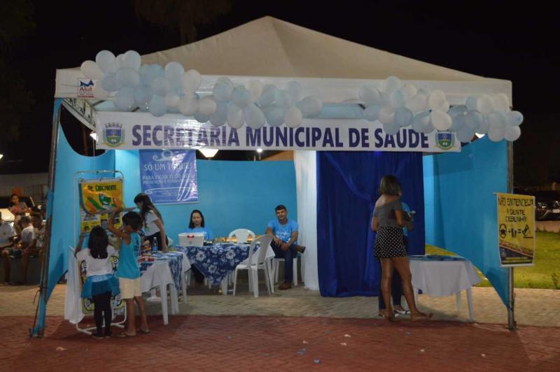 Corrente | Estande da secretaria municipal de saúde oferta vários serviços