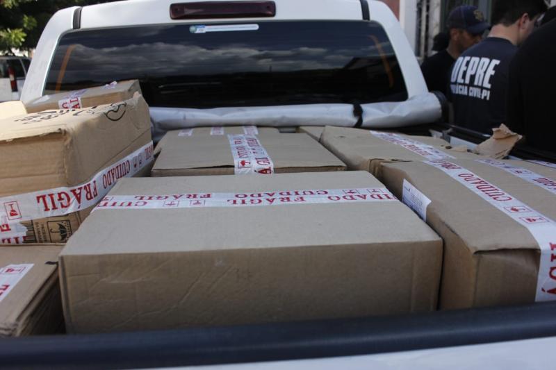Polícia apreende quase uma tonelada de cocaína em Teresina