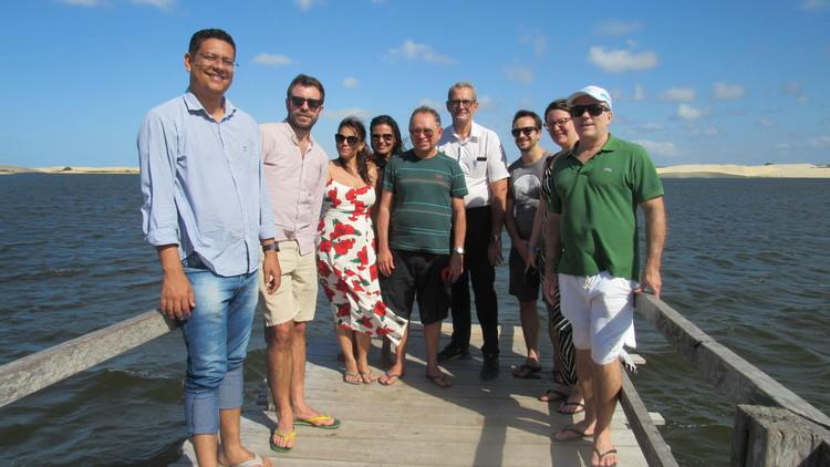 Técnicos da Agência de Desenvolvimento da França visitam litoral do Piauí