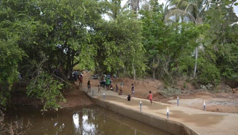 Prefeitura constrói e recupera passagens molhadas na zona rural de Oeiras