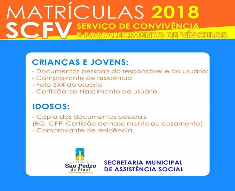 Centro de Referência da Assistência Social abrirá inscrições para os Serviços de Convivência a parti