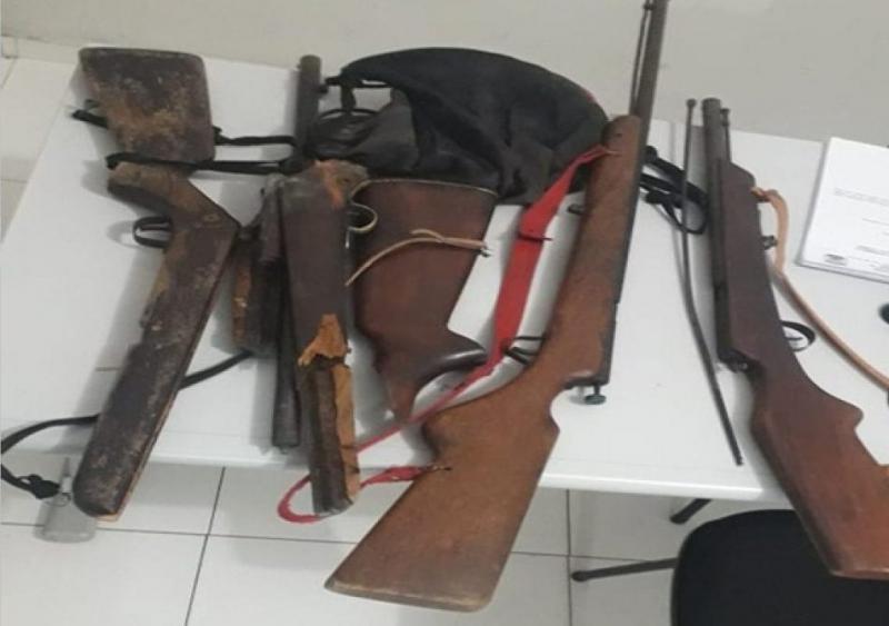 Homem é preso suspeito de atirar contra a companheira