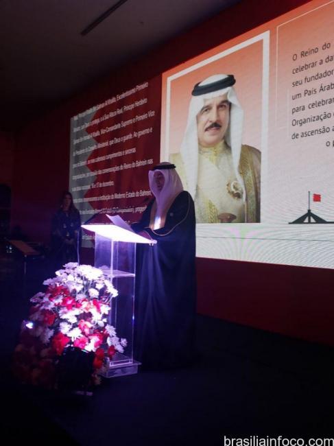 O Dia Nacional do Reino do Bahrein foi comemorado em Brasília ...