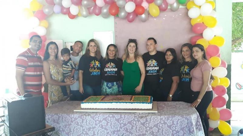 Secretaria de Saúde de Demerval Lobão realiza o projeto Cidadania Jovem