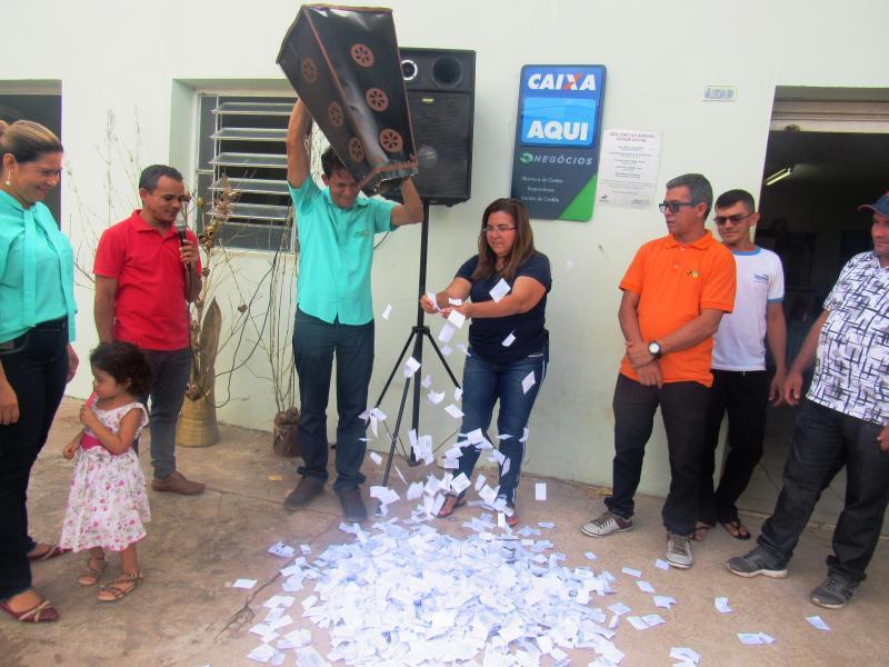 Comemorações e sorteios de prêmios marcam o aniversário do Banco dos Cocais