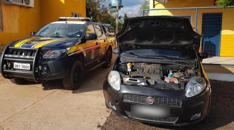 Carro roubado em Brasília é apreendido pela PRF no Piauí