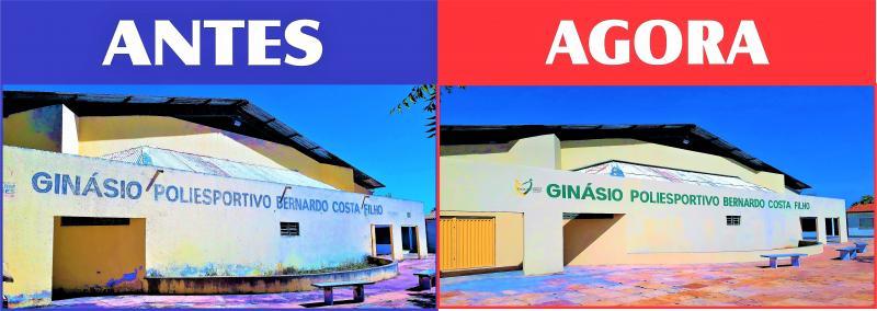 Prefeitura Conclui Reforma do Ginásio Poliesportivo Bernardo Costa