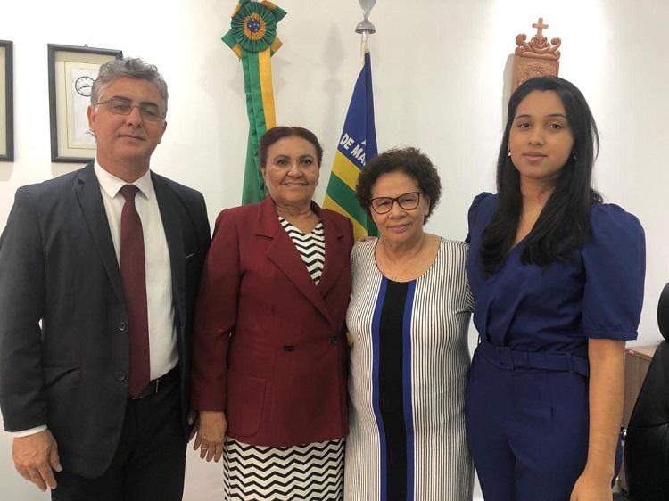 Representantes da CDDH levam demandas à Vice-Governadora do Piauí