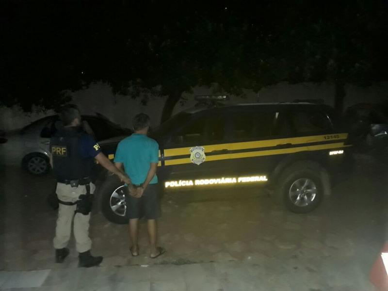 Estelionatário é preso durante abordagem da PRF no Piauí