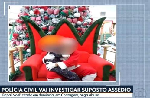 Papai Noel suspeito de assédio nega crime e diz ter doença nos testículos