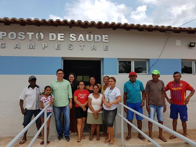 Francinópolis |Prefeitura reinaugura Posto de Saúde da comunidade Campestre
