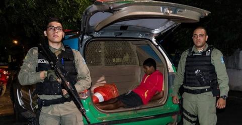 PM prende acusado de espancar e torturar vítima durante assalto