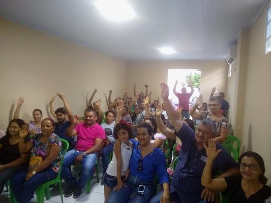 Eleição para renovação da diretoria do SINDICOLÔNIA em Colônia do Gurgueia