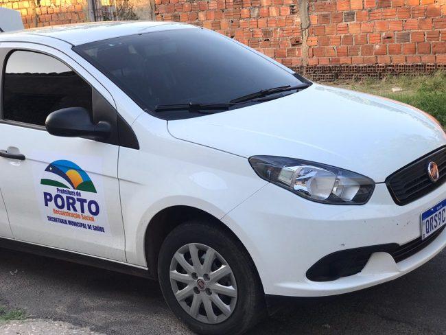 Saúde de Porto adquire veículo para realização de visitas domiciliares