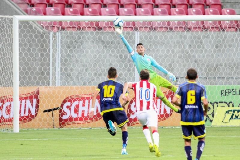 Altos e Náutico empatam na estreia da Copa do Nordeste