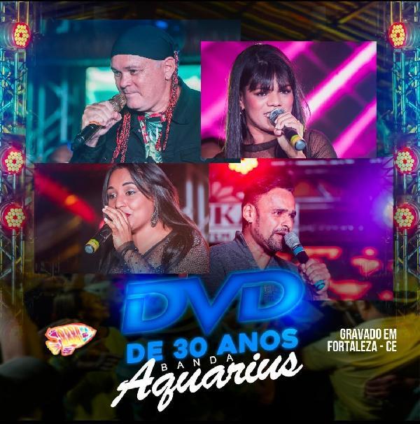 Banda Aquárius divulga áudio do seu primeiro DVD oficial
