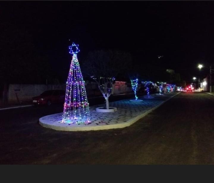 Colônia do Gurgueia | prefeita parabeniza a decoração natalina na cidade