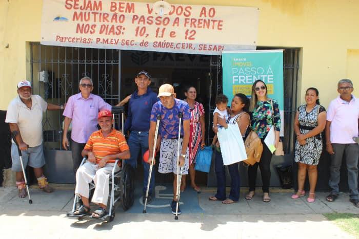 Saúde de Santa Cruz dos Milagres leva Pacientes para Oficina Passo a frente