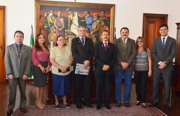 Juiz Matoense toma posse no TJ para trabalhar na comarca de São Luís