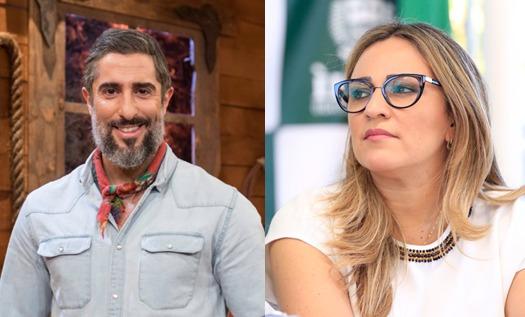 Marcos Mion agradece Rejane Dias por Projeto que cria Carteira do Autista