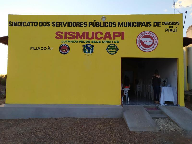 Inaugurada a sede própria do SISMUCAPI em Cabeceiras