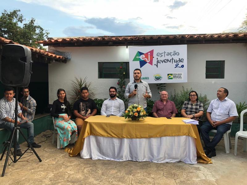 Estação Juventude qualifica 150 jovens no município de Água Branca