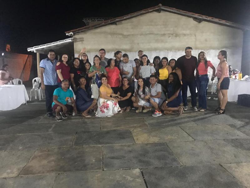 Secretaria realiza confraternização do Serviço Social de Francinópolis