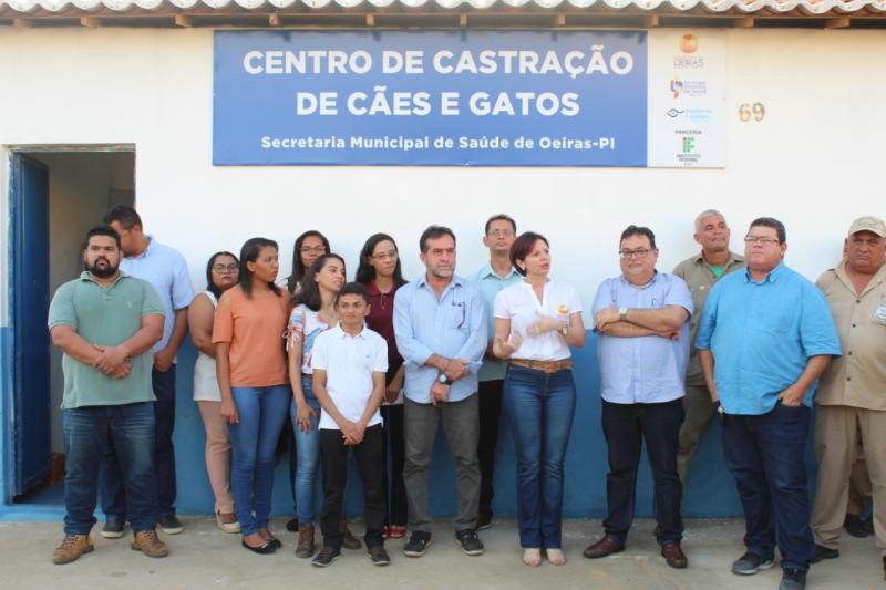 Oeiras inaugura primeiro Centro de Castração de Cães e Gatos do Piauí