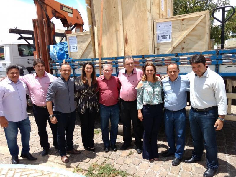 Hospital regional de São Raimundo Nonato recebe equipamentos do Renova Saúde