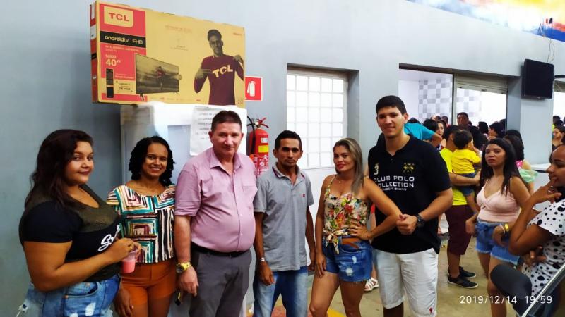 População de Esperantina participa do aniversario de 2 anos Posto Amorim I