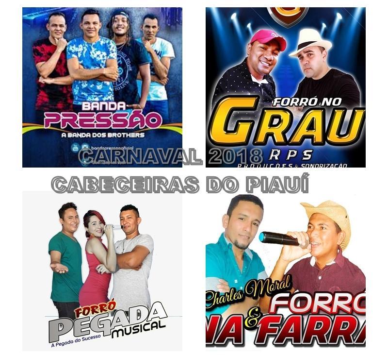 Prefeitura de Cabeceiras divulga programação oficial do Carnaval 2018