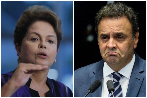 Dilma chama Aécio de 'irresponsável e playboy' e ele responde: 'desequilibrada'