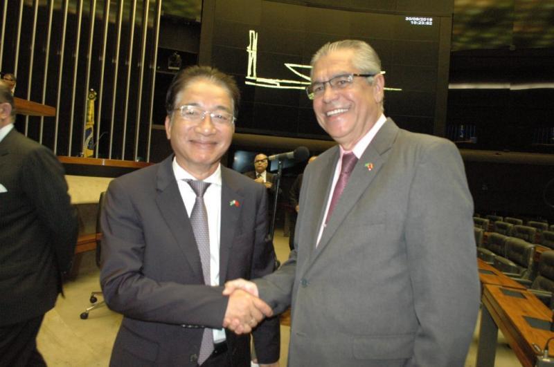 Embaixador Do Ba Khoa do Vietnã se despede do Brasil