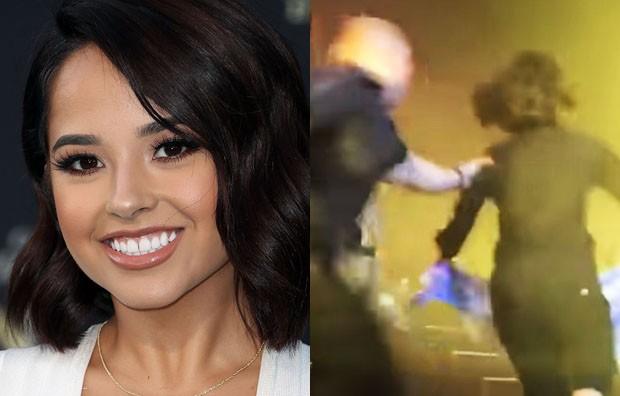 Cantora é tirada do palco ao ser confundida com fã; vídeo